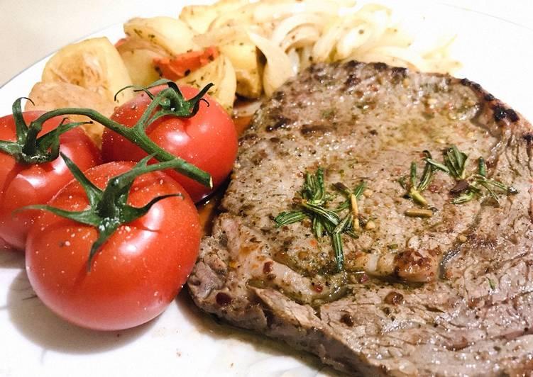 Steak theo phong cách âu mỹ ?