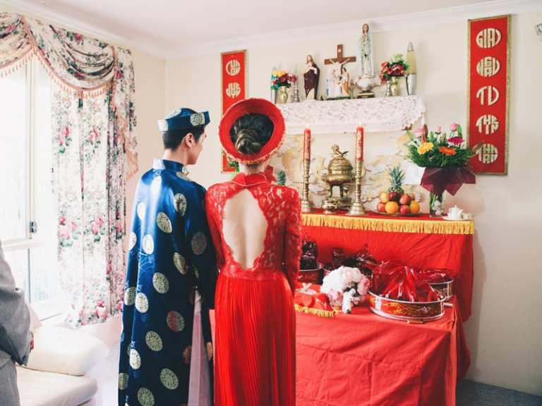 Trình tự nghi lễ ăn hỏi của người Việt miền Nam là gì?